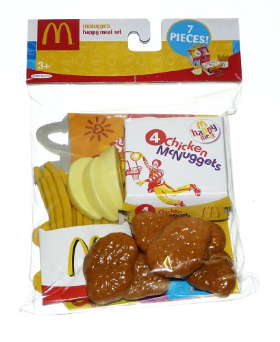Nuggets Box Set: McDonalds Food Pretend Happy Meal Set